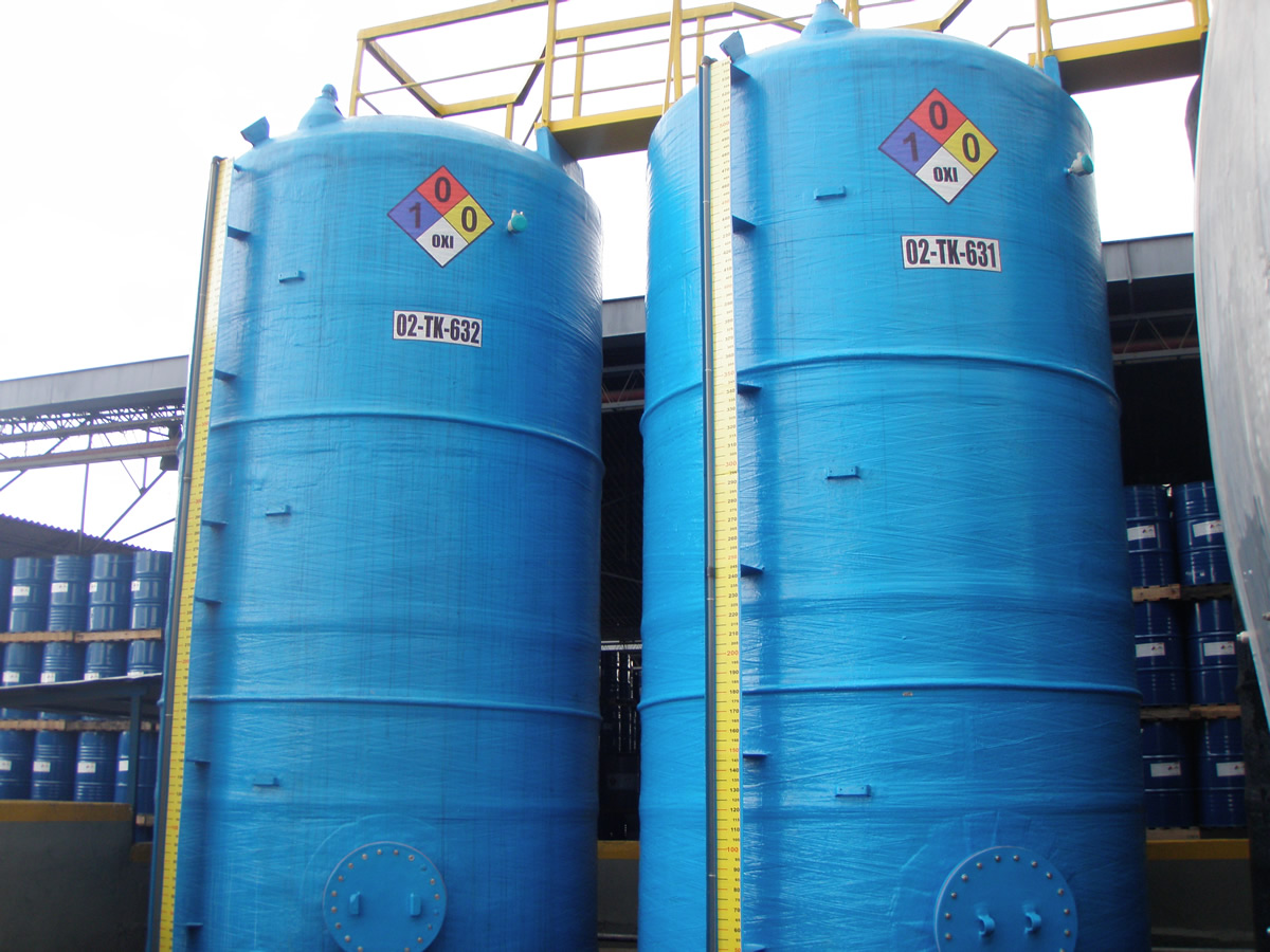Tanques en fibra de vidrio for Estanques para almacenar agua potable