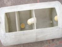 Pozo séptico en fibra de vidrio