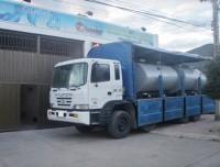 Tanque de almacenamiento horizontal